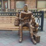 Унікальний пам'ятник студенту в Теребовлі