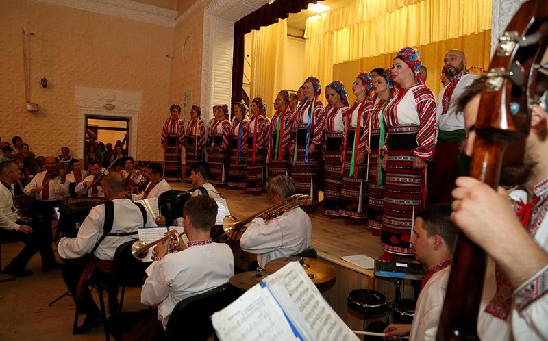 Український народний хор України імені Г. Г. Верьовки, виступ в Трибухівцях